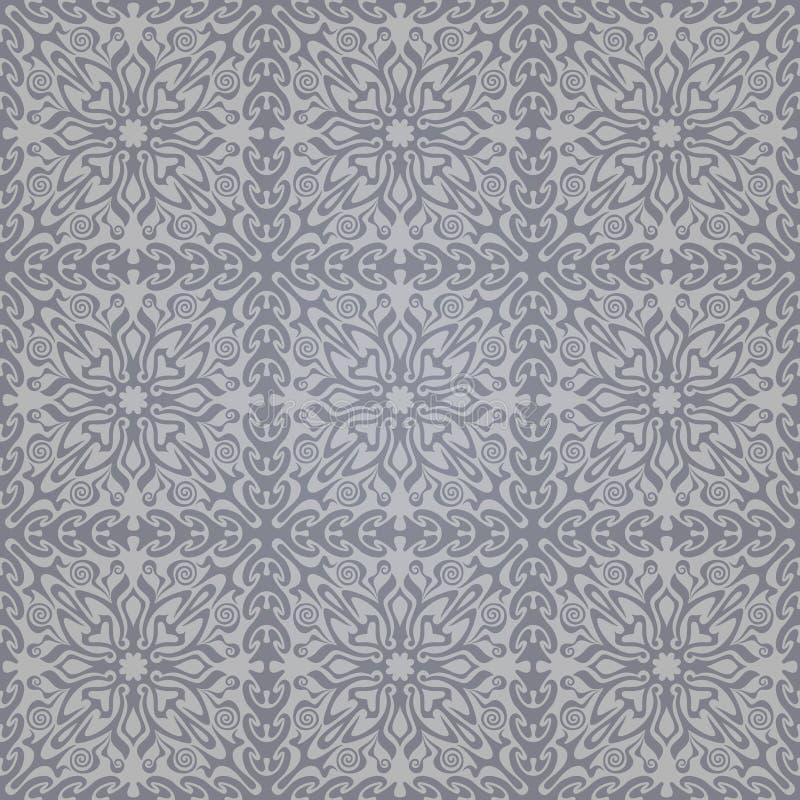 Teste padrão abstrato sem emenda com inclinação ilustração stock