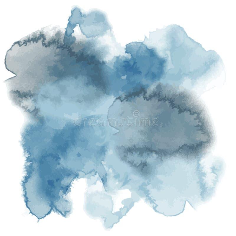Teste padrão abstrato, vetor, respingo do watercolour ilustração do vetor