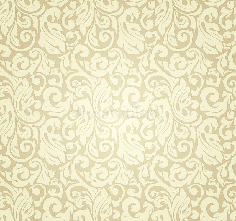 Teste padrão amarelo sem emenda ilustração royalty free