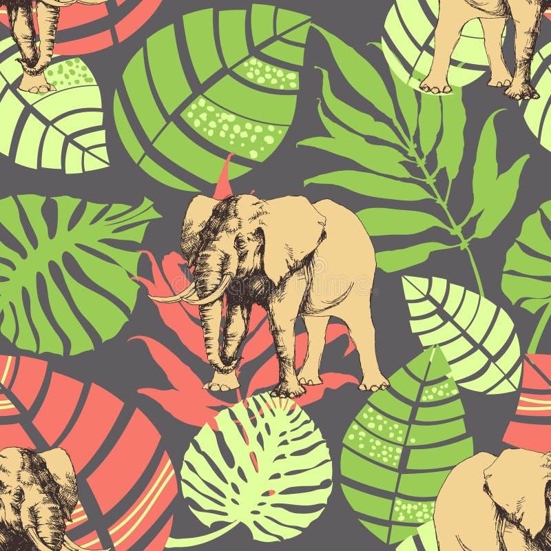 Teste padrão animal ilustração do vetor