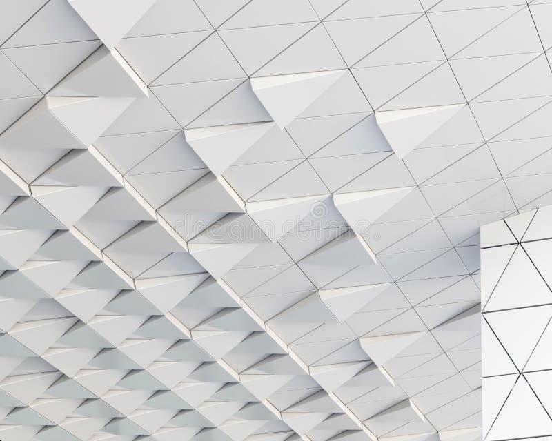 teste padrão arquitetónico do sumário da ilustração 3D imagens de stock royalty free