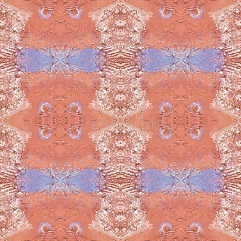 Teste padrão artístico abstrato com mão curto cursos tirados Textura sem emenda no estilo do impressionismo para a Web, cópia, te fotografia de stock