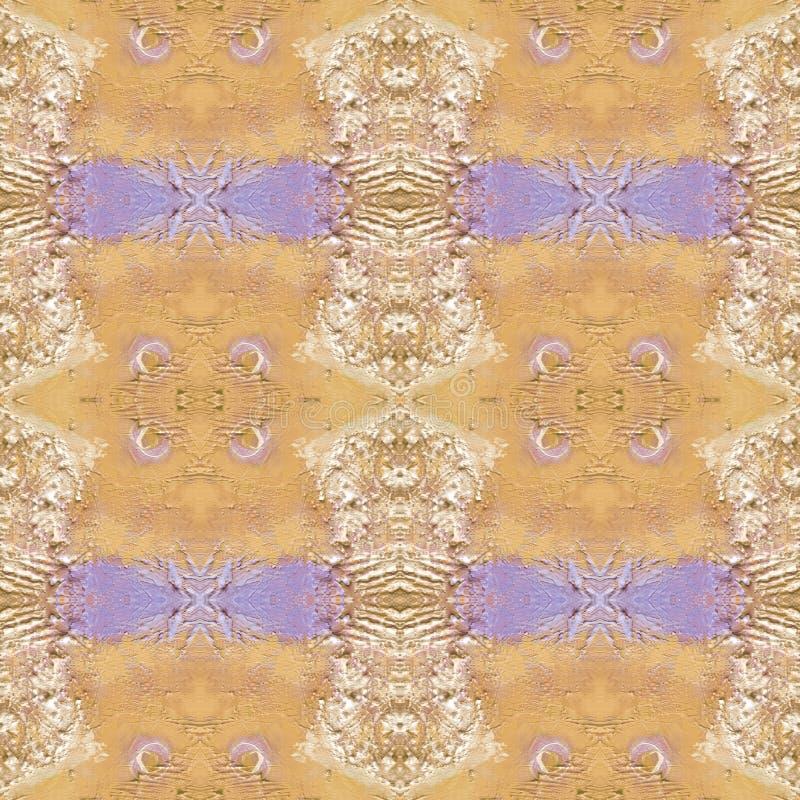 Teste padrão artístico abstrato com mão curto cursos tirados Textura sem emenda no estilo do impressionismo para a Web, cópia, te imagem de stock