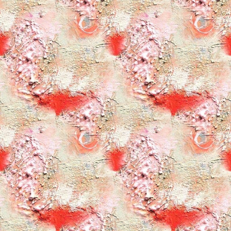 Teste padrão artístico abstrato com mão curto cursos tirados Textura sem emenda no estilo do impressionismo para a Web, cópia, te foto de stock