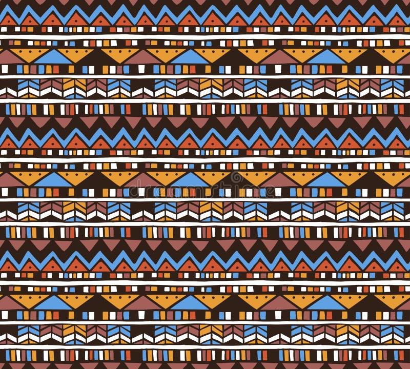 Teste padrão asteca do vetor ilustração do vetor