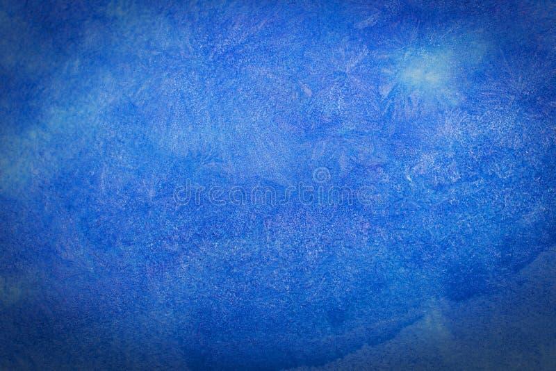 Teste padrão azul ilustração royalty free