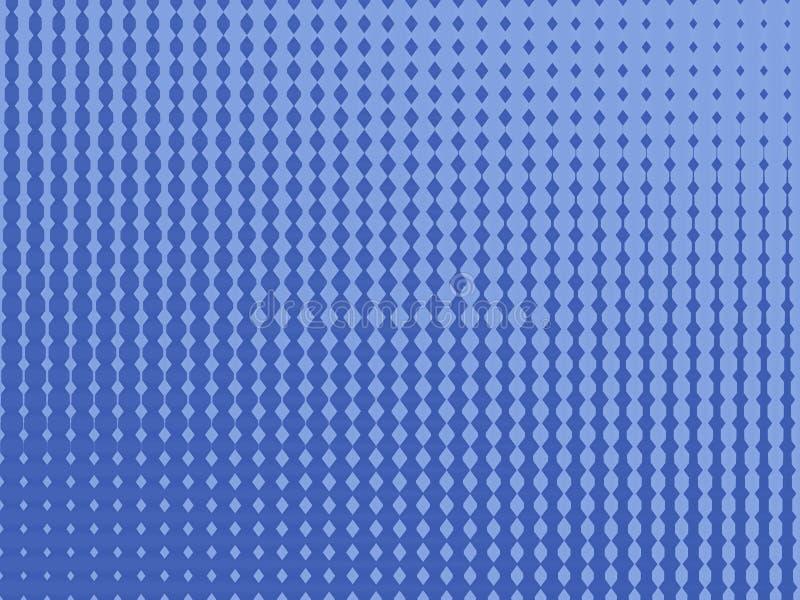 Teste padrão azul ilustração stock
