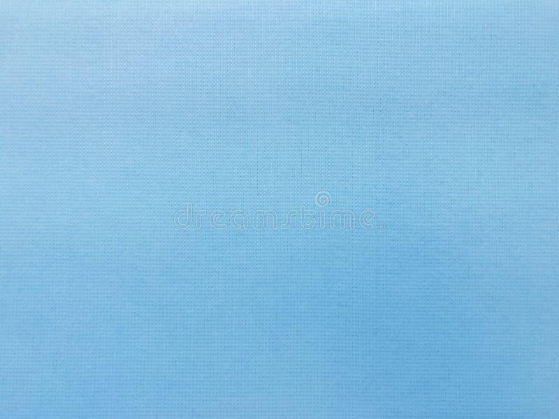 Teste padrão azul da superfície de pano da textura da tela da lona, fundo de pano da tela imagens de stock