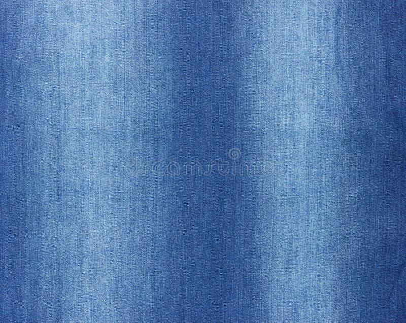 Teste padrão azul de brim sem emenda para a textura e o fundo fotografia de stock