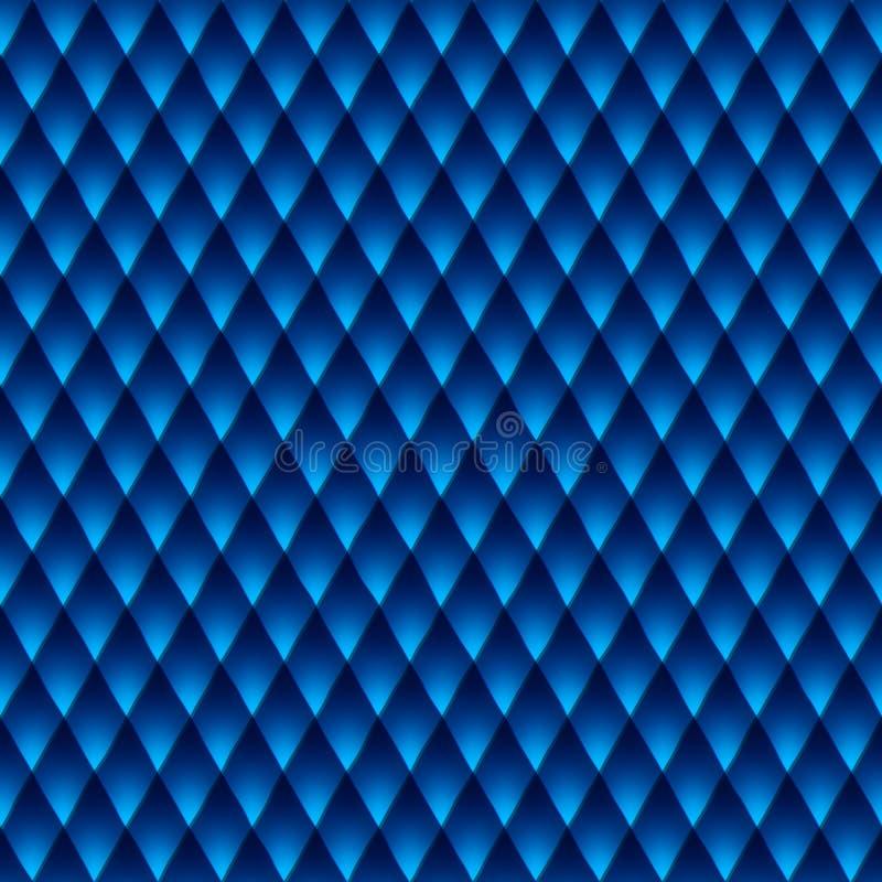 Teste padrão azul do fundo do negócio ilustração royalty free