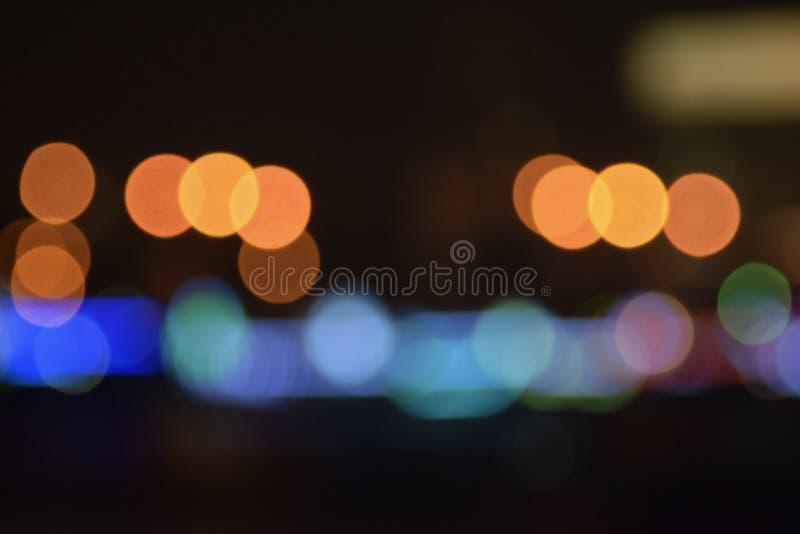 Teste padrão bonito da luz do borrão fotografia de stock royalty free