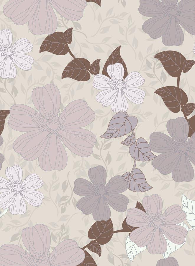 Teste padrão bonito floral imagens de stock royalty free