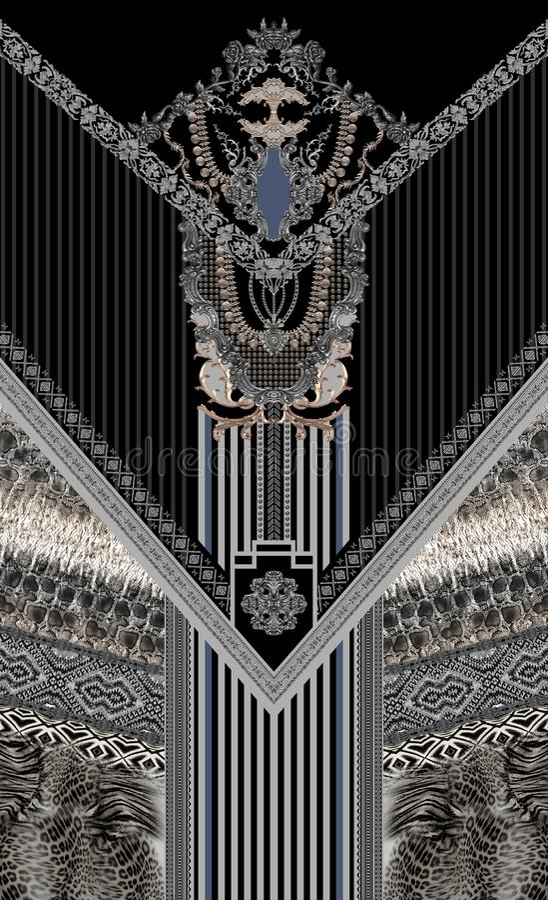 Teste padrão branco azul do sumário do projeto da joia ilustração royalty free