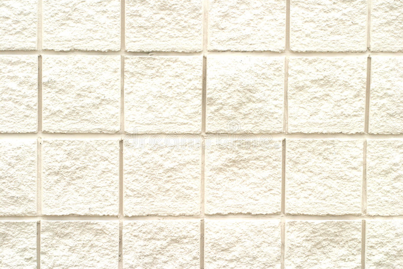 Teste padrão branco do tijolo ilustração do vetor