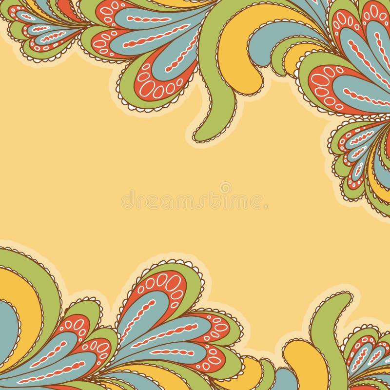 Teste padrão brilhante do fundo abstrato ilustração stock
