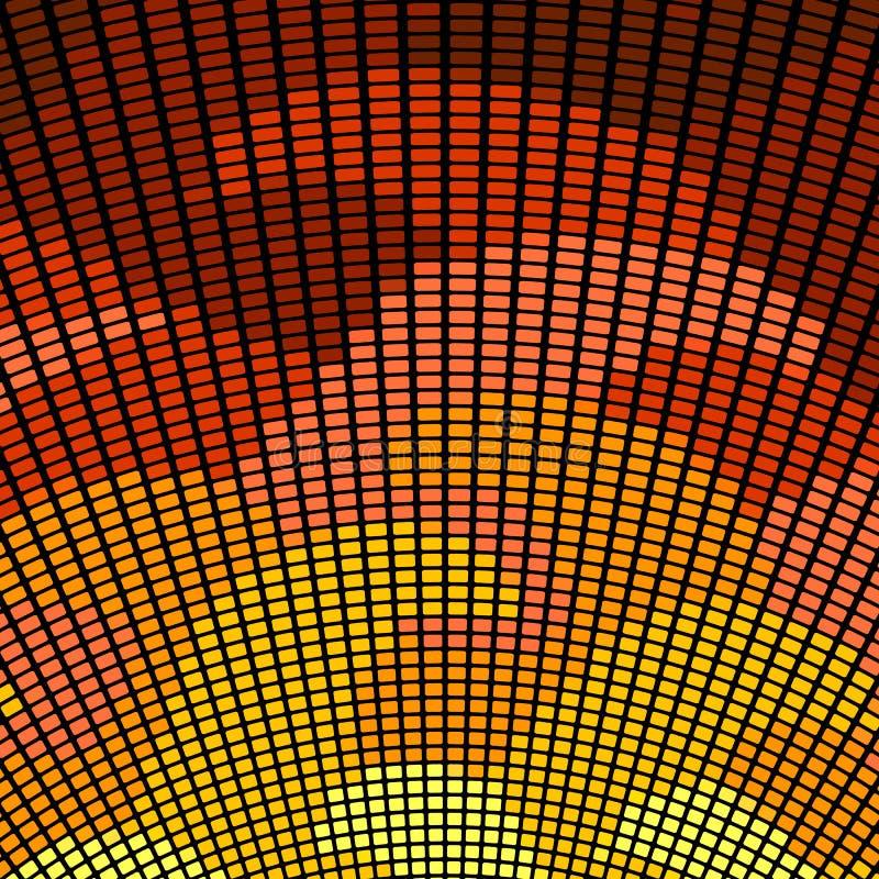 Teste padrão brilhante do pixel Ilustra??o do vetor para seu projeto gr?fico imagem de stock royalty free