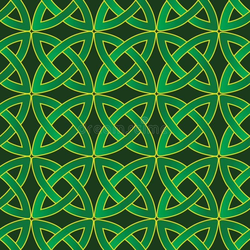 Teste padrão celta ilustração stock