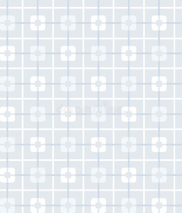 teste padrão Cinzento-azul, geométrico, sem emenda, quadrados, fundo ilustração royalty free