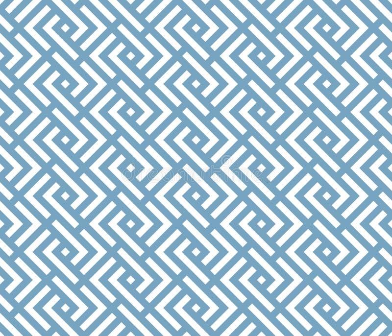 Teste padrão clássico geométrico tradicional japonês ilustração royalty free