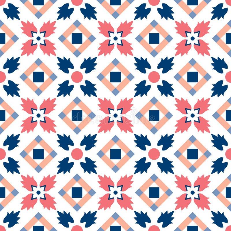 Teste padrão clássico tradicional decorativo marroquino ilustração royalty free