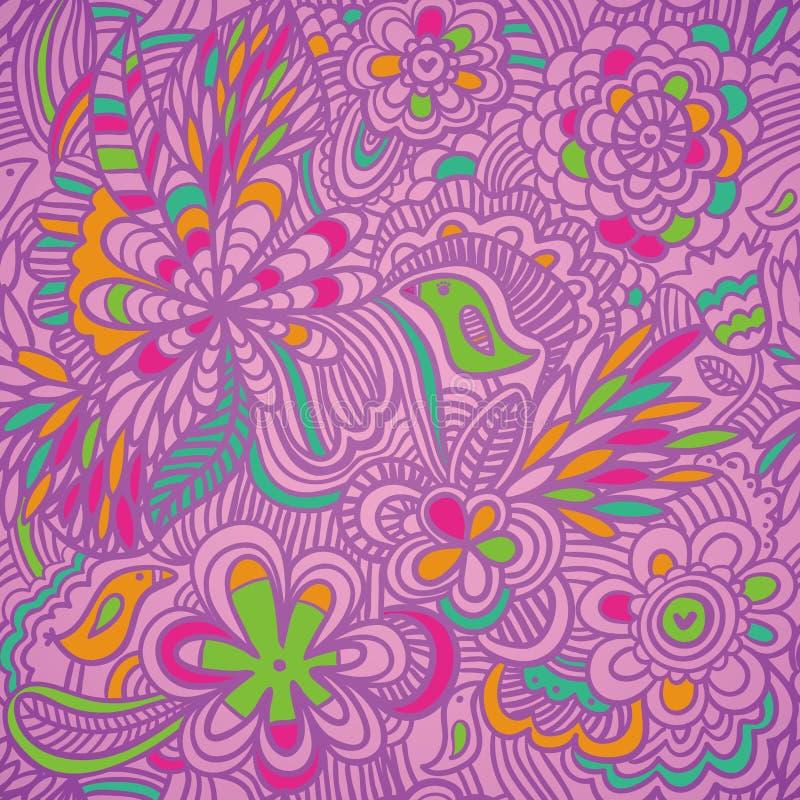 Teste padrão colorido ilustração do vetor
