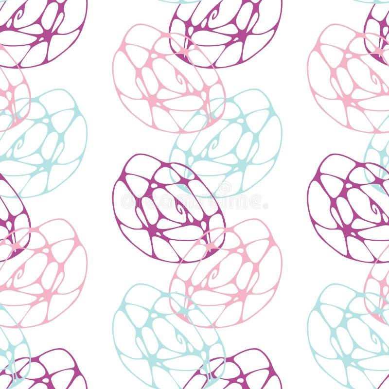 Teste padrão colorido da decoração ilustração stock