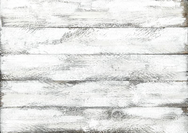 Teste padrão colorido da madeira da prancha do fundo branco de madeira foto de stock royalty free