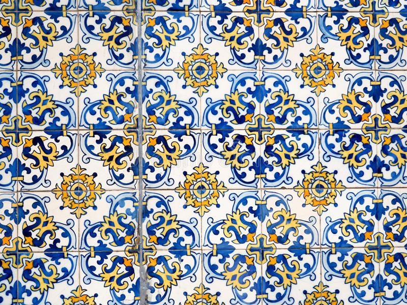 Teste padrão colorido da telha fotografia de stock royalty free