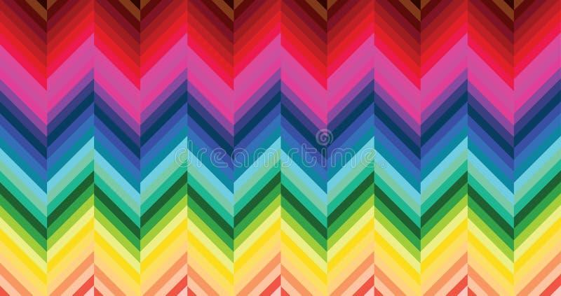 Teste Padrão Colorido Do Parquet Imagem de Stock