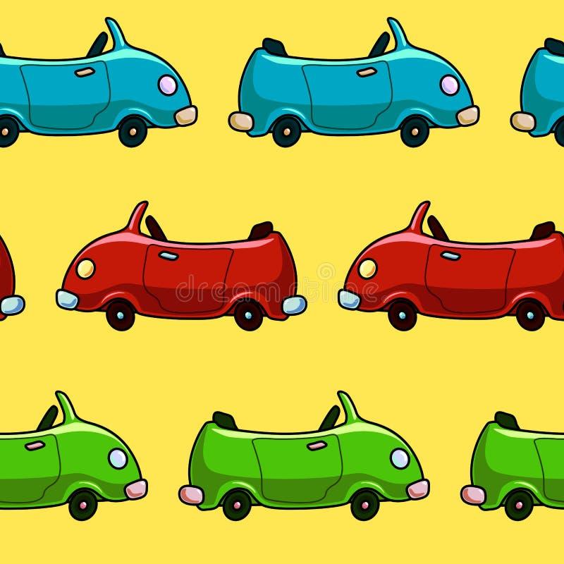 Download Teste Padrão Colorido Sem Emenda Do Carro Ilustração do Vetor - Ilustração de cartoon, sumário: 80103045