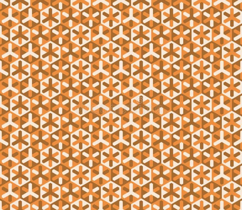 Teste padrão colorido sem emenda moderno da geometria do vetor ilustração do vetor