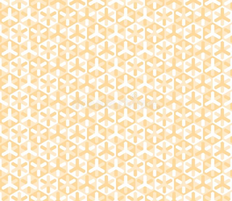 Teste padrão colorido sem emenda moderno da geometria do vetor ilustração stock
