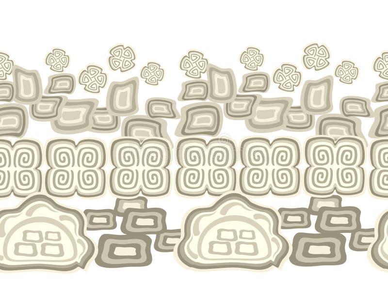 Teste padrão colorido sem emenda no estilo indiano Ilustração do vetor EPS10 ilustração do vetor