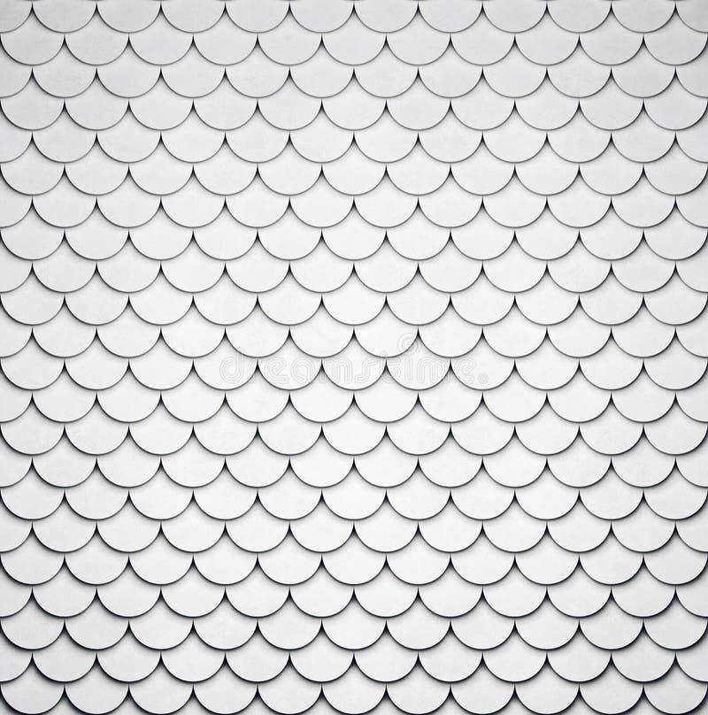 Teste padrão concreto dado forma volumétrico ilustração royalty free