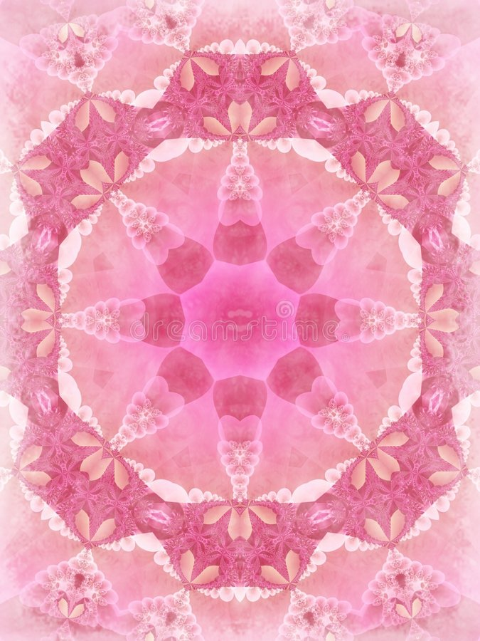 Teste padrão cor-de-rosa agradável da textura do laço ilustração royalty free