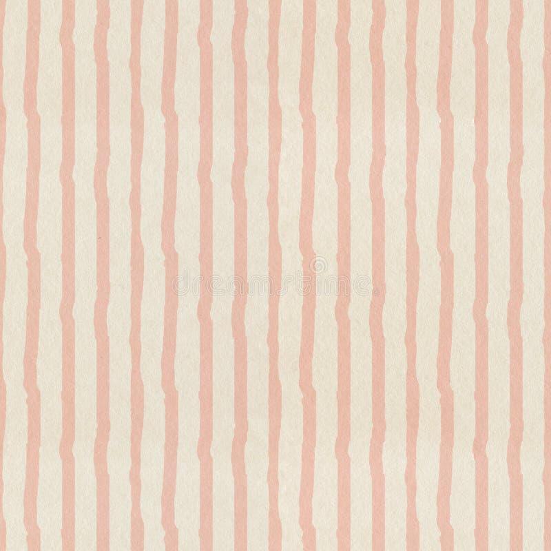 Teste padrão cor-de-rosa Textured das listras fotografia de stock royalty free