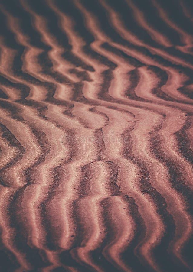 Teste padrão da areia imagens de stock