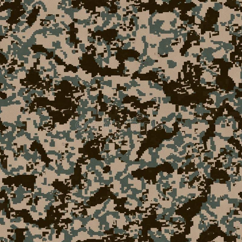 Teste padrão da camuflagem de Digitas. Textura sem emenda. imagens de stock