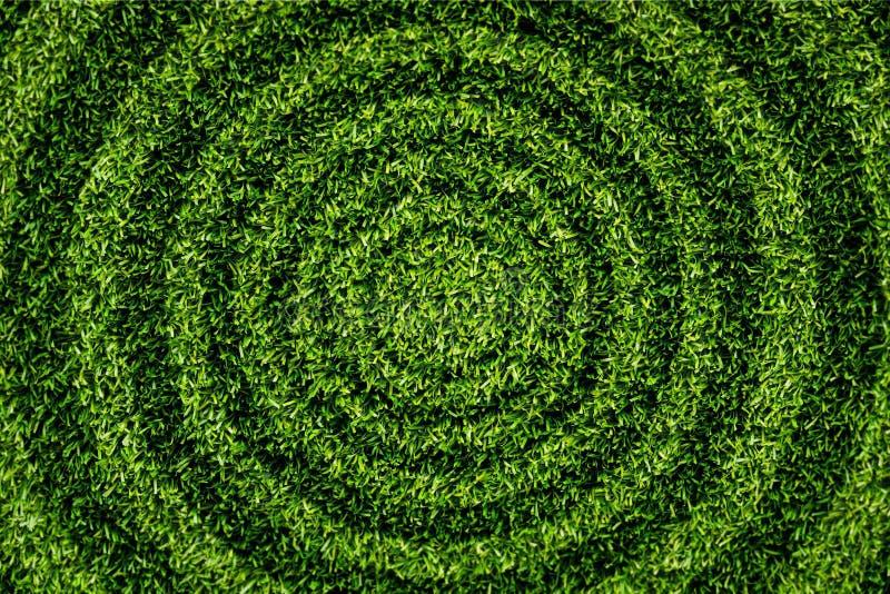 Teste padrão da circular da grama. foto de stock royalty free