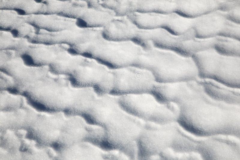 Teste padrão da neve foto de stock