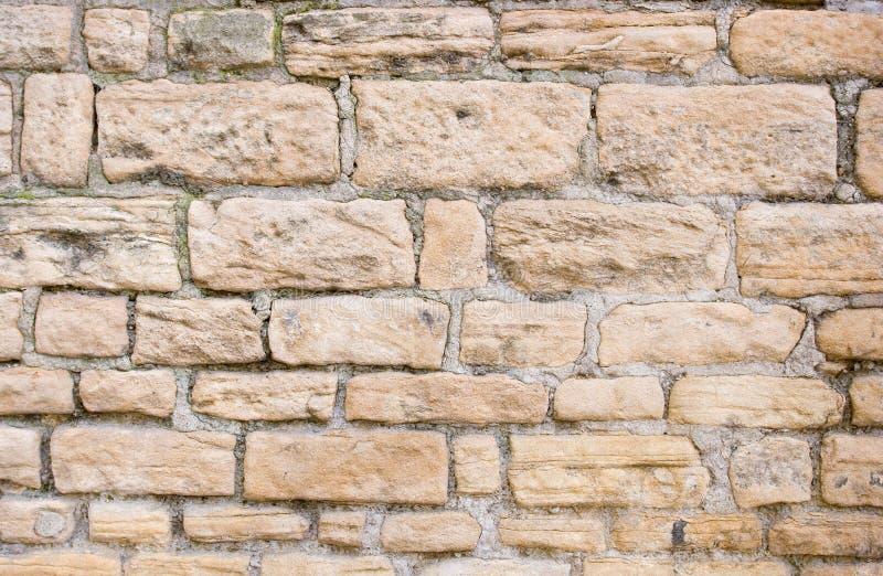Teste padrão da parede de pedra foto de stock