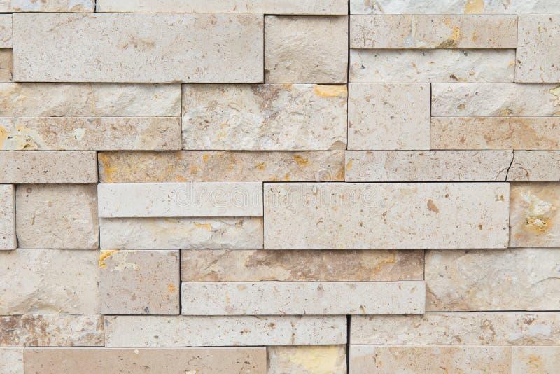 Teste padrão da parede de pedra da ardósia decorativa para o fundo foto de stock