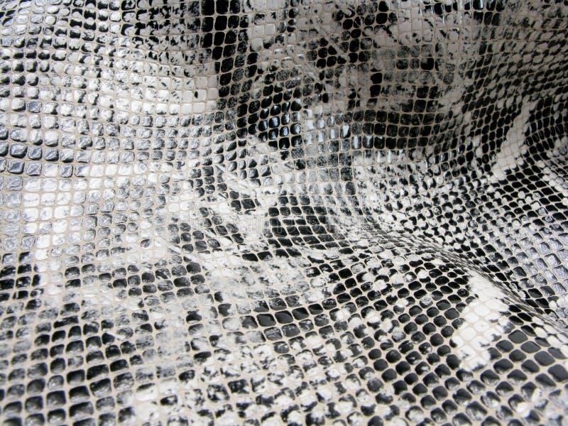 Teste padrão da pele de serpente do fundo fotografia de stock