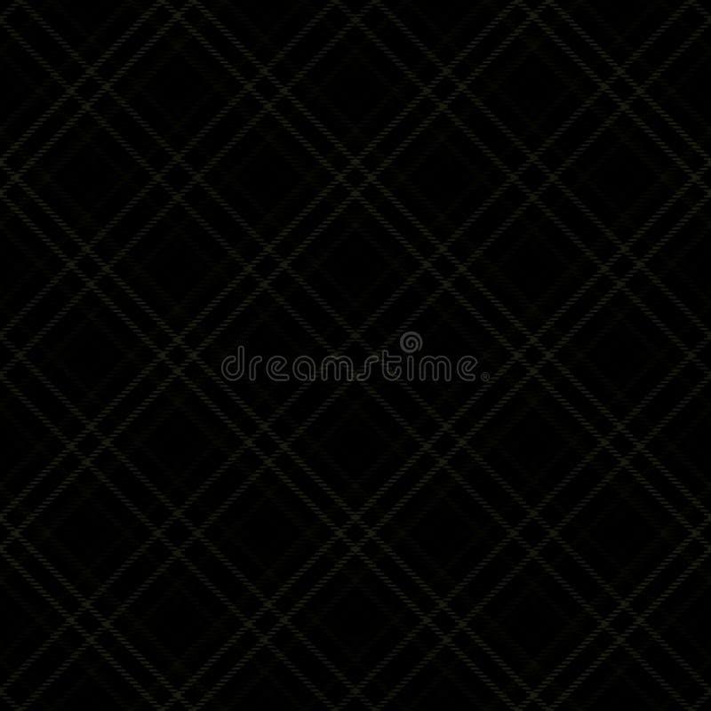 Teste padrão da tartã, fundo diagonal da tela, material inglês ilustração do vetor