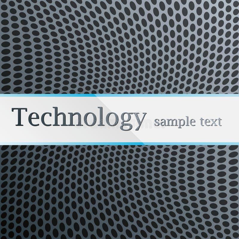 Teste padrão da tecnologia ilustração royalty free
