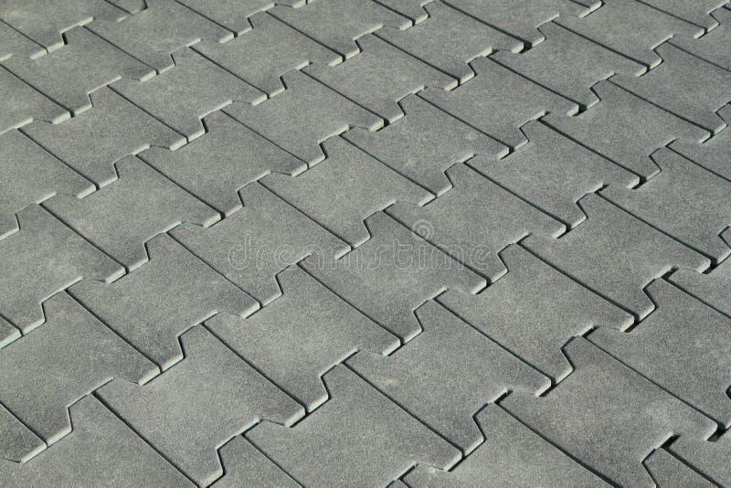 Assoalho de telhas de borracha foto de stock