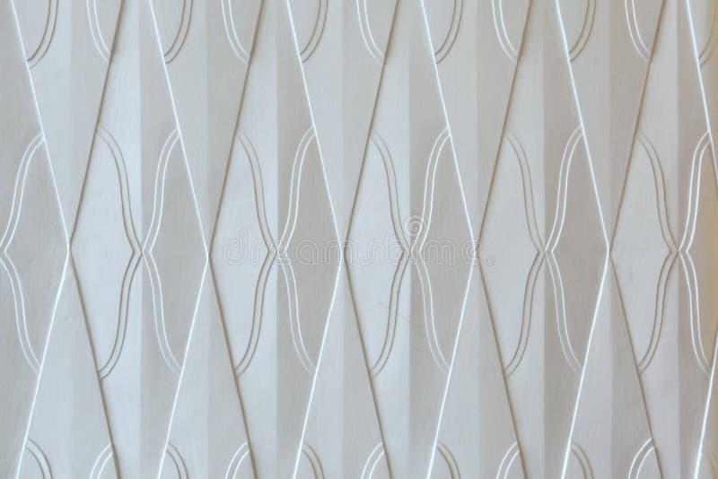 Teste padrão de Art Nouveau em Hradec Kralove Textura do fundo fotografia de stock