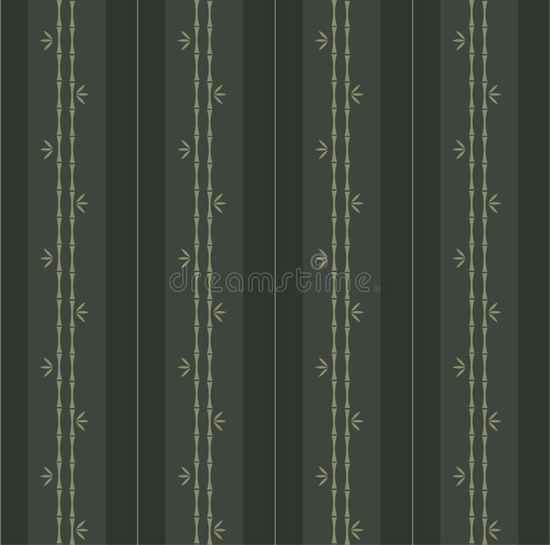 Teste padrão de bambu ilustração stock