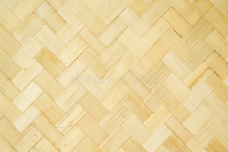 Teste padrão de bambu tecido imagem de stock royalty free