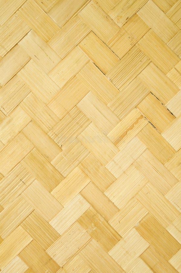 Teste padrão de bambu tecido imagem de stock